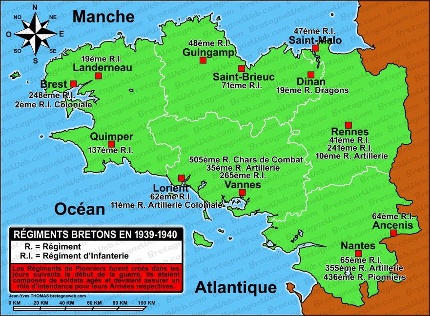 Carte Bretagne Quimper.Histoire De Quimper Bretagneweb Com