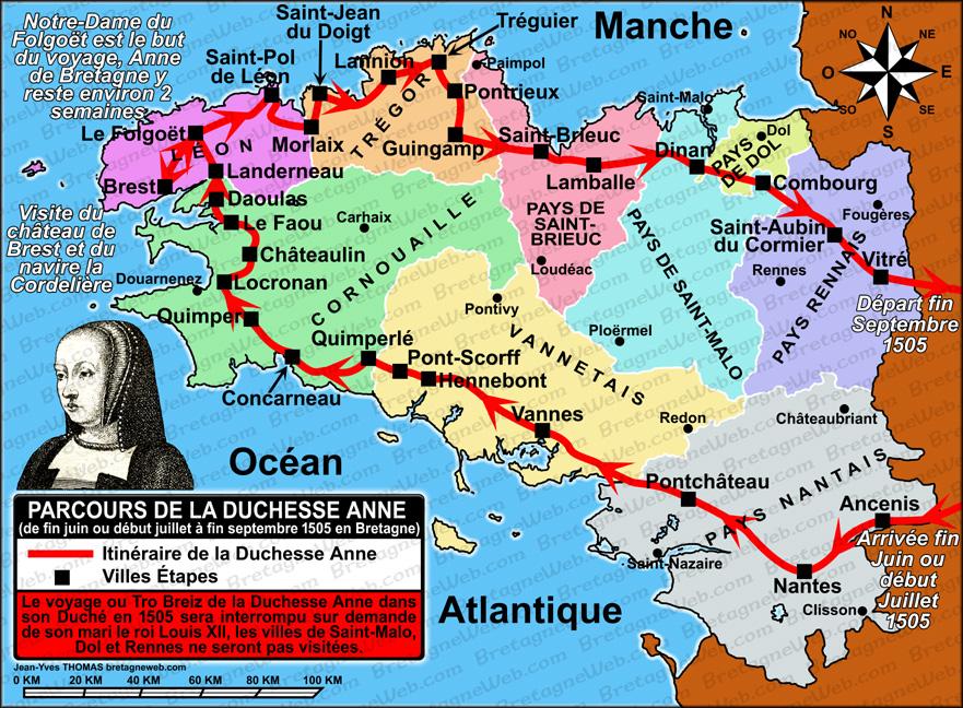 Carte Bretagne Lamballe.Histoire De Lamballe Bretagneweb Com