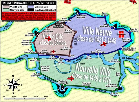 Histoire De Rennes Bretagneweb Com