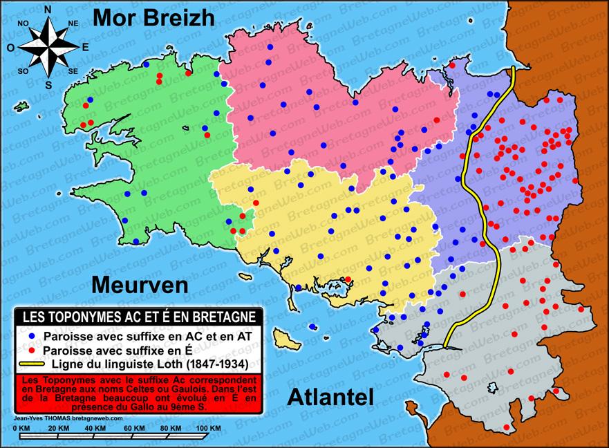 Carte Bretagne Avec Km.Histoire De La Bretagne Bretagneweb Com